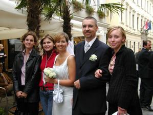 so spolužiačkami na UKF Lubka, Gabika, Lucka
