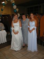 s maminou a sestrou Silviou