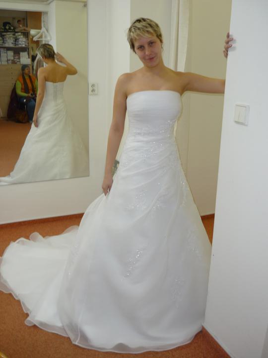 Přípravy - p.Svozílek šaty Daphne .... luxus!!!!
