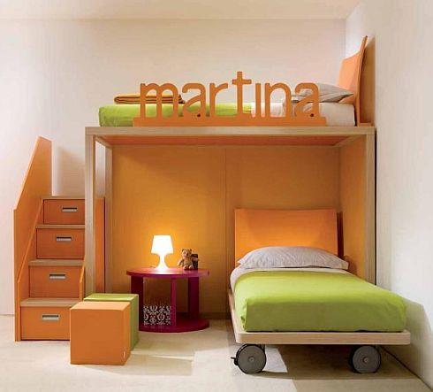 Inšpirácie - detské izby - malý priestor