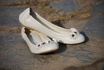 Nevěstiny balerýnky :-)