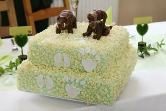 Luxusní dort - jak vzhledem, tak chutí...