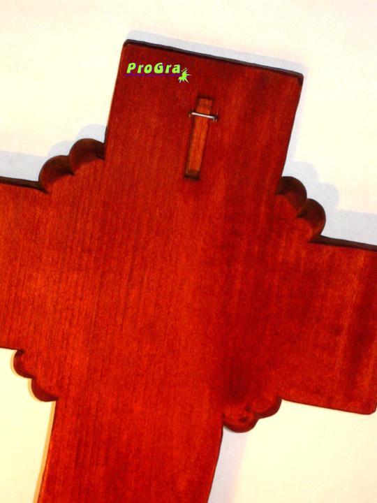 Svadobné krížiky - zadná strana krížika