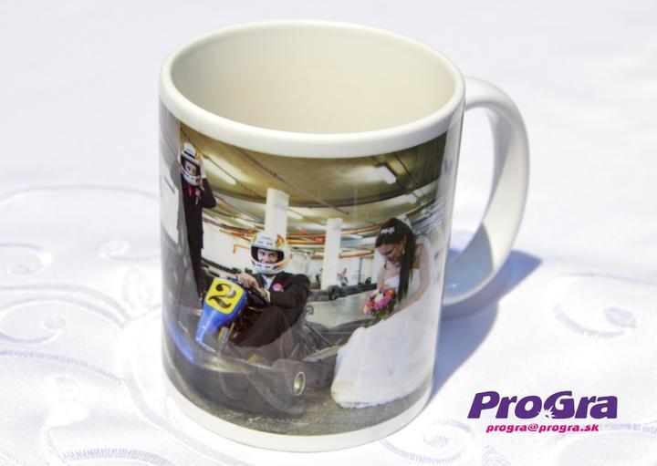 """Po svadbičke - Aj šálka s Vašou svadobnou fotkou Vám môže pripomínať Váš deň """"D"""" pri každodennej kávičke alebo čajíku - radi ju pre Vás vyrobíme"""