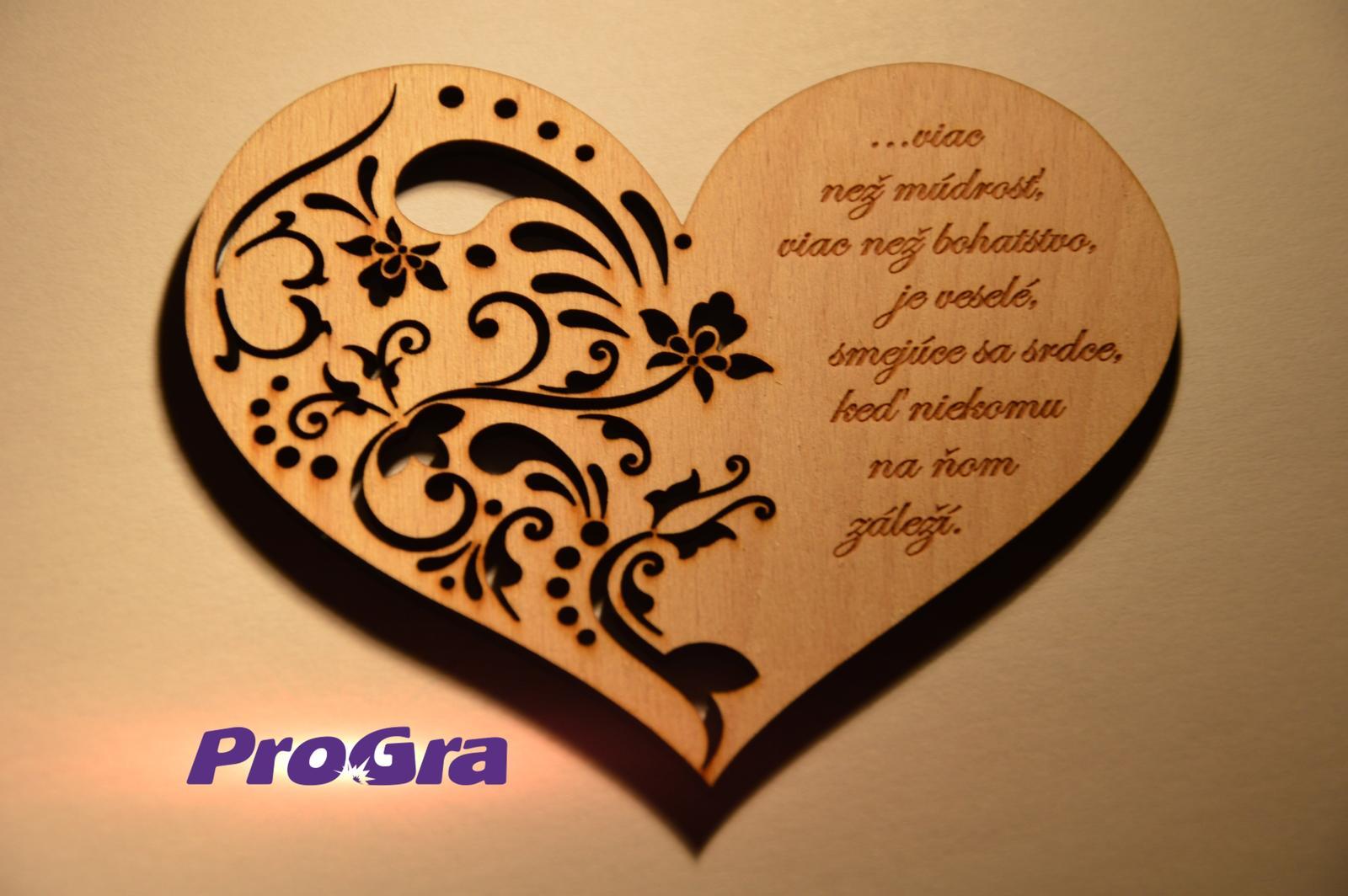Detaily pre Váš svadobný deň - nielen valentínske srdiečko z našej tvorby :-)