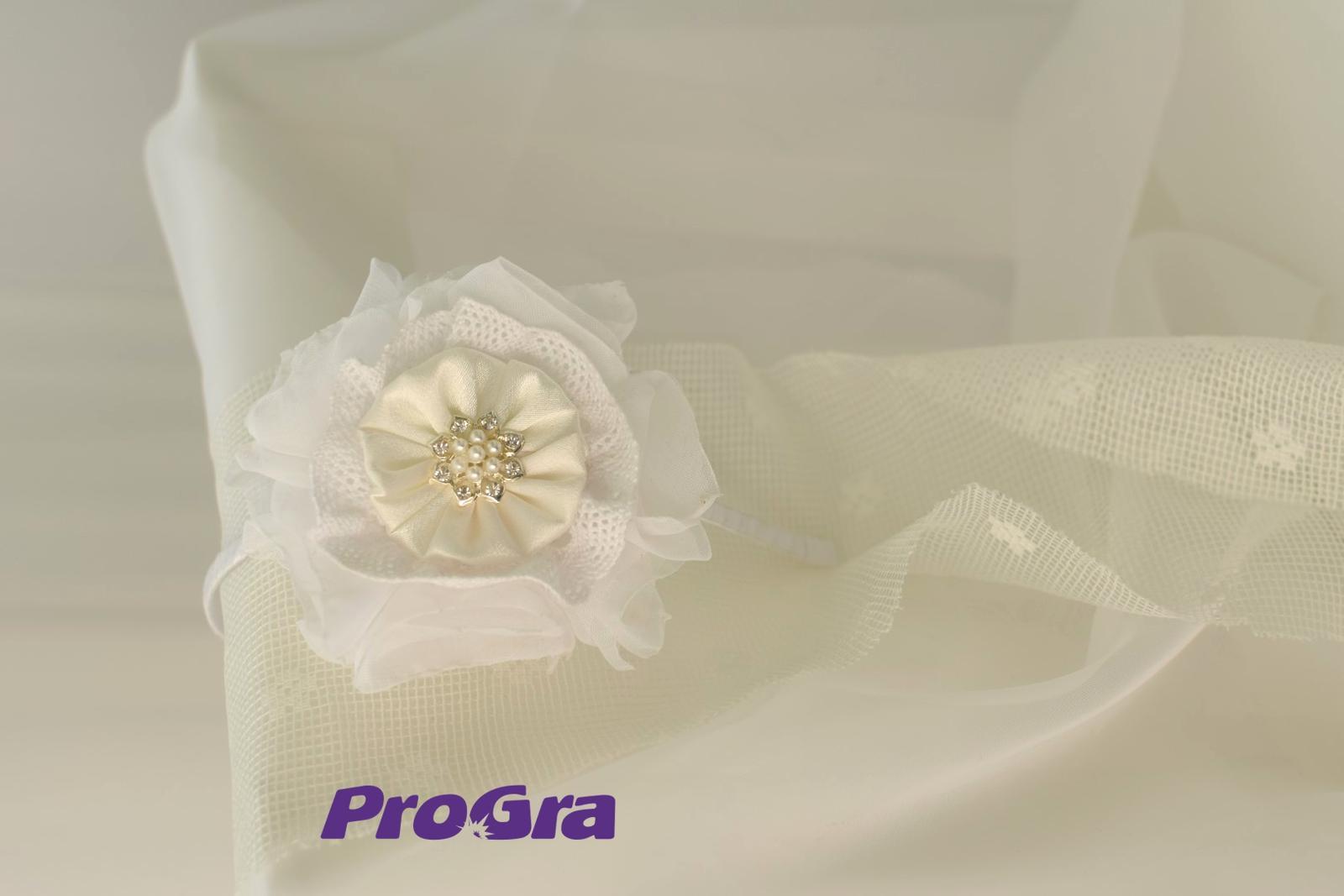 Detaily pre Váš svadobný deň - Snehulienka - svadobná čelenka ručne robená už v našej ponuke
