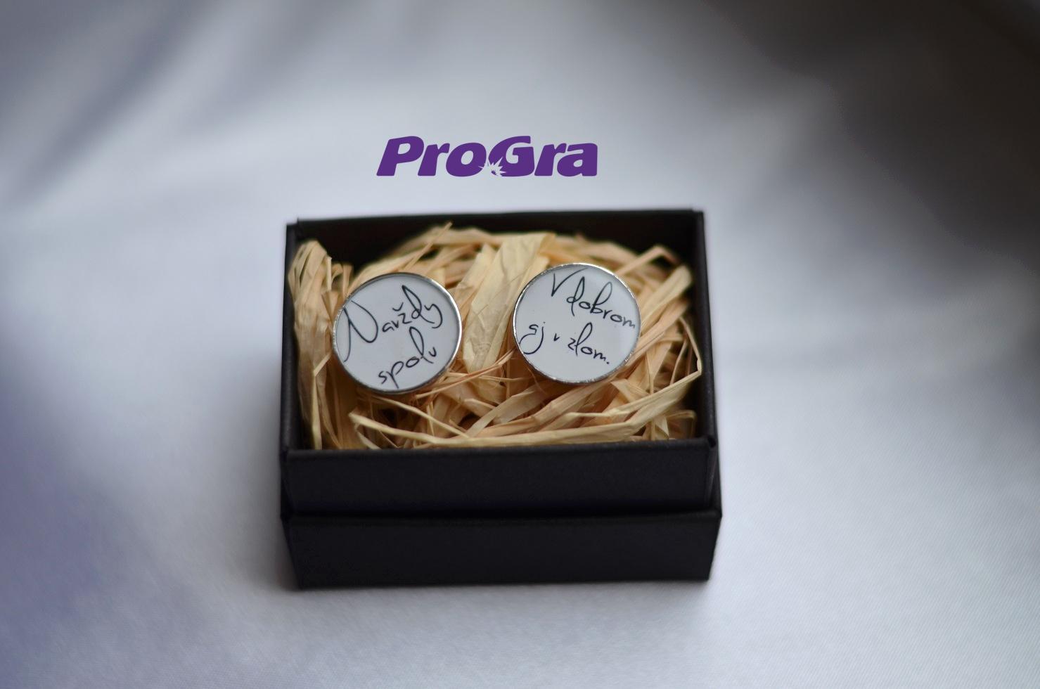 Detaily pre Váš svadobný deň - Navždy spolu ... - manžetové gombičky z našej ponuky