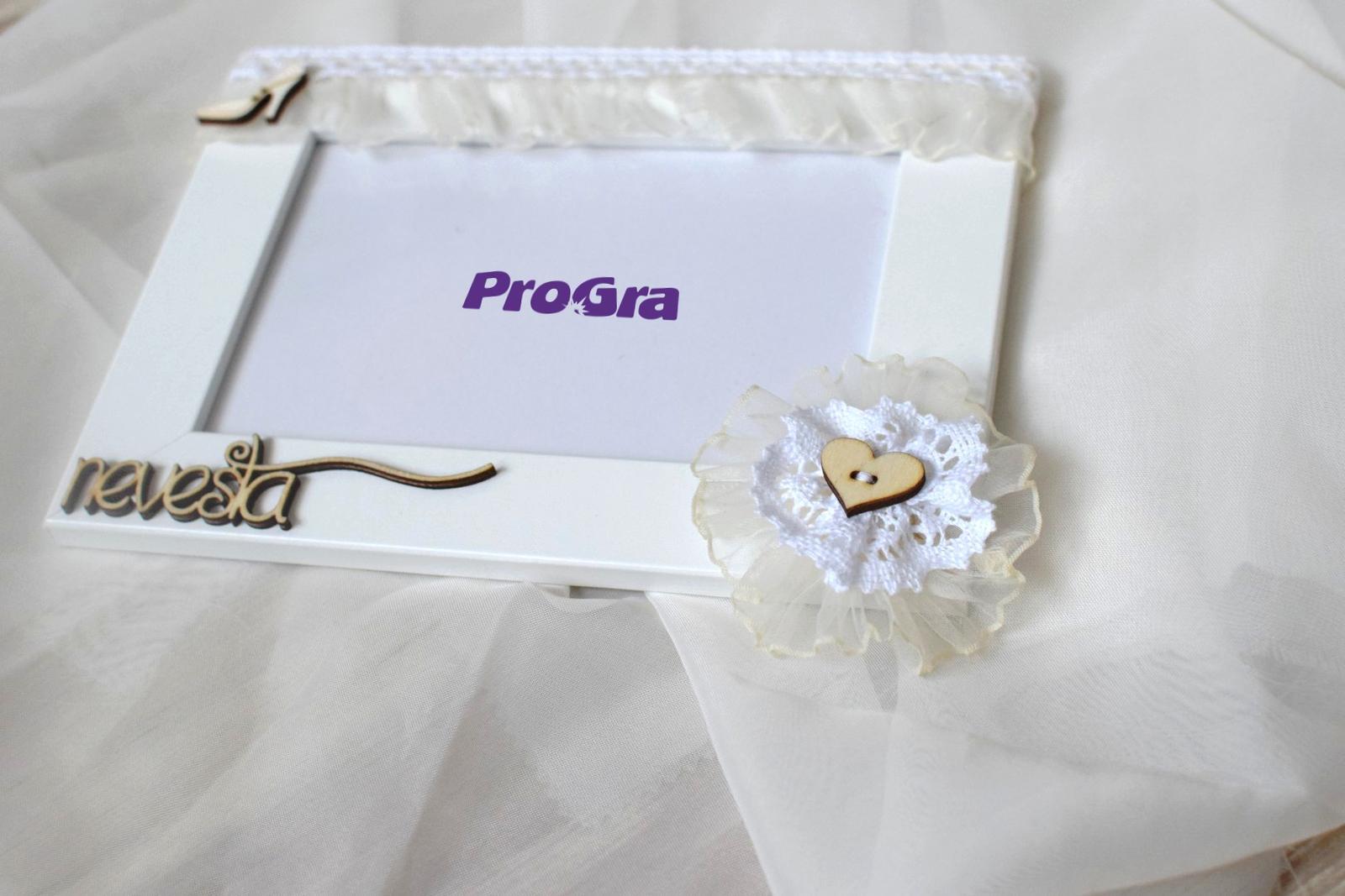 Detaily pre Váš svadobný deň - Nevesta - fotorámik