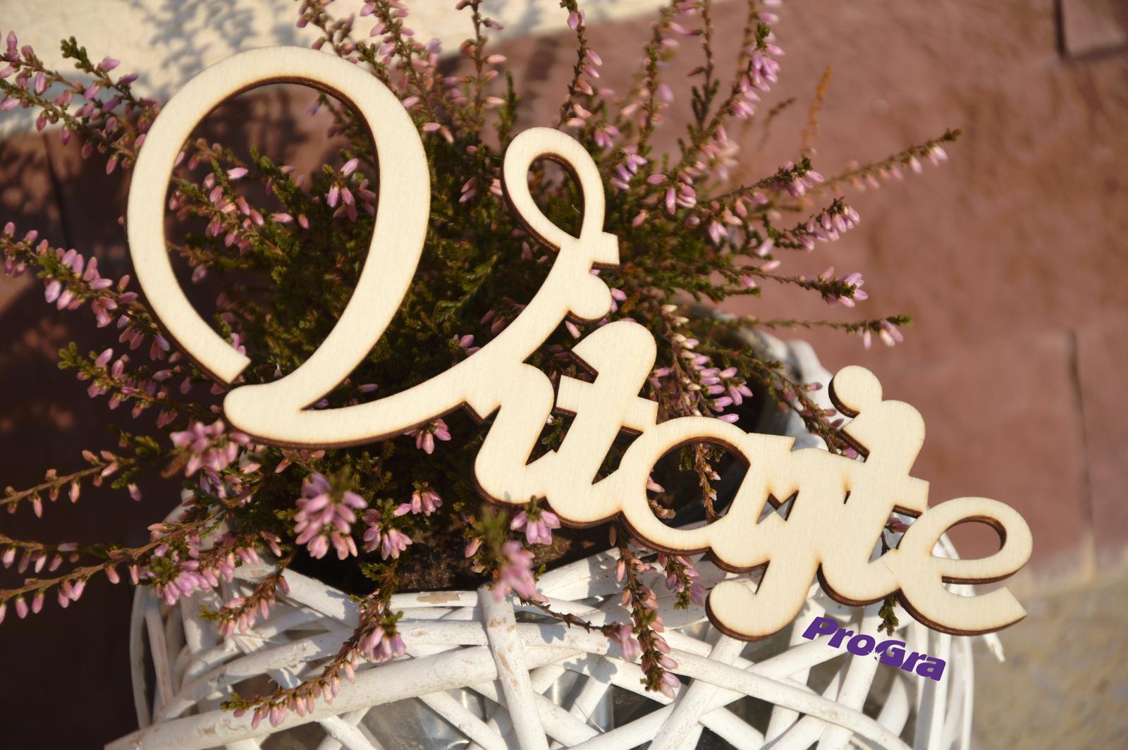 Detaily pre Váš svadobný deň - Obrázok č. 86