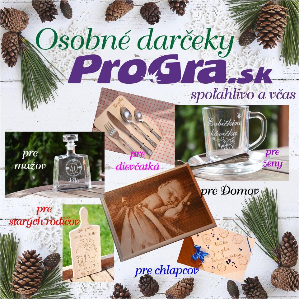 Po svadbičke - Osobné darčeky Vám pomôže spoľahlivo a včas pripraviť ProGra s. r. o.🎁🤩v Trnave alebo na https://www.progra.sk/ 🎀🔔⌚️🌟🎄