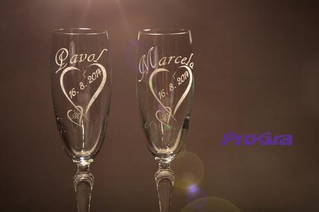 Svadobné poháre Corynne - Obrázok č. 1