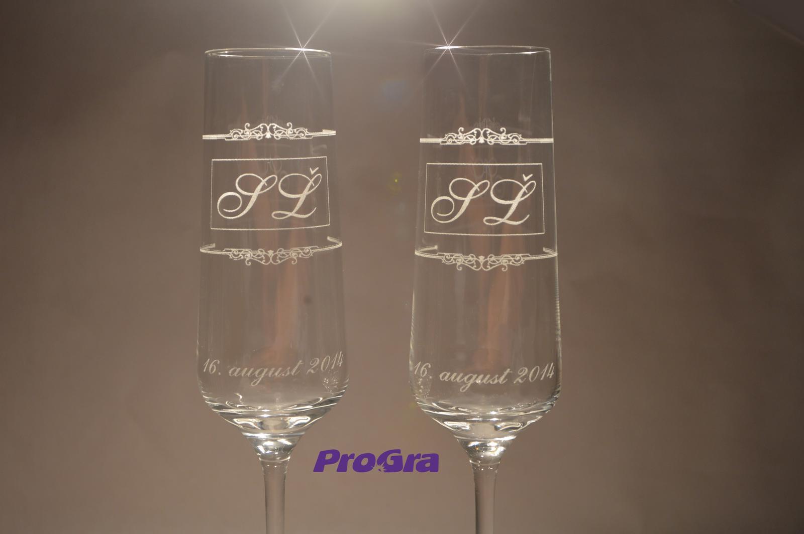 Trinity - svadobné poháre - 2 ks Trinity - Obrázok č. 1