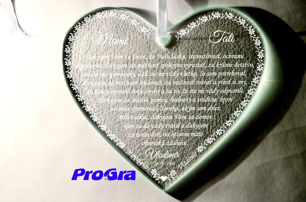 Poďakovanie rodičom_zo skla_NOVINKA - Obrázok č. 2