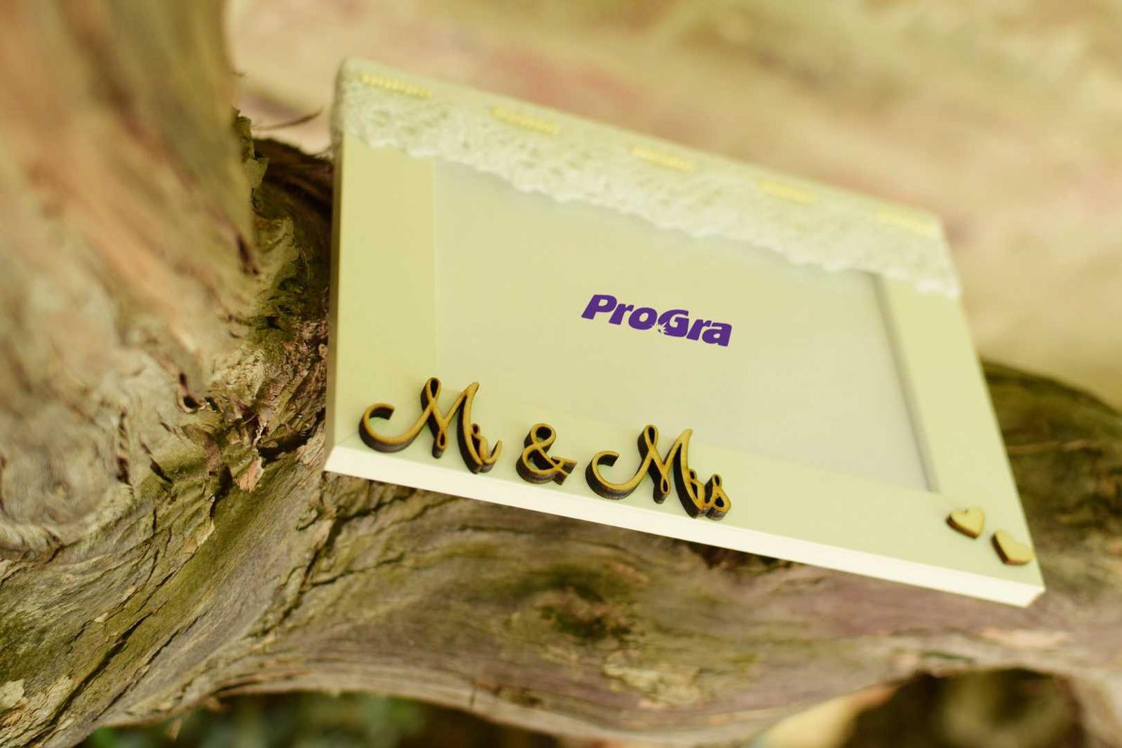 Mr & Mrs (fotorámik) - Obrázok č. 3