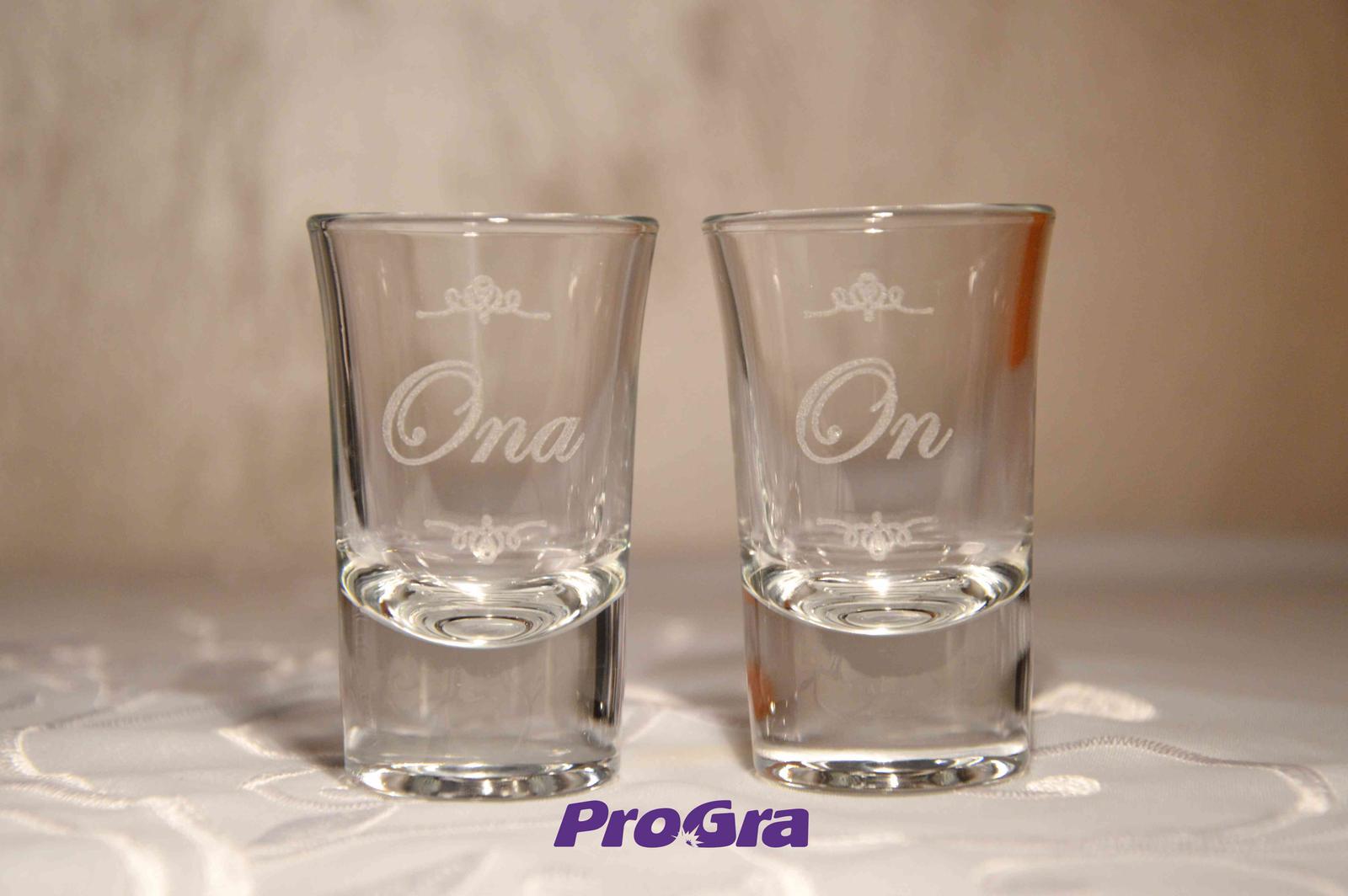 Brooklyn - svadobné poháre 2ks - Obrázok č. 3