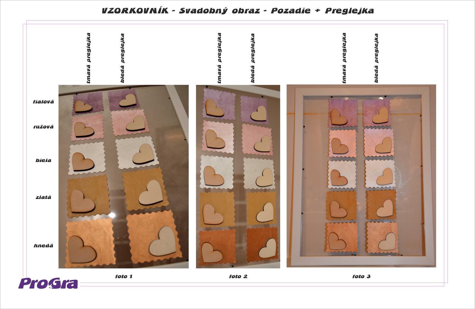 Svadobný obraz-srdiečkový strom s vtáčikmi 40 x 50 - Obrázok č. 2