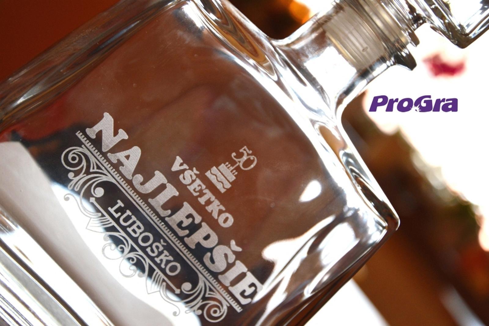 Jim - gravírovaná darčeková fľaša - Obrázok č. 3