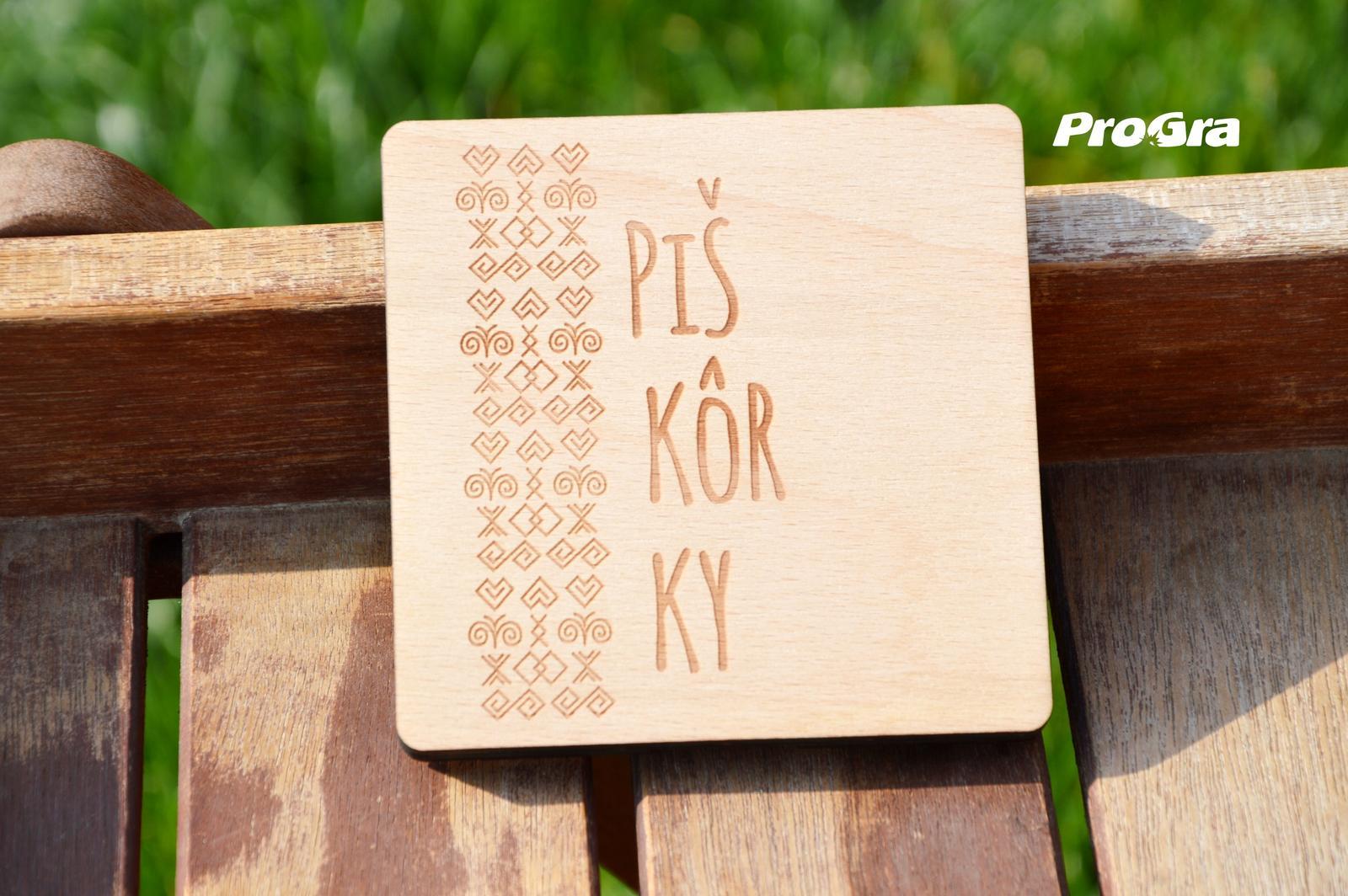Piškôrky čičmanské v drevenej krabičke - Obrázok č. 3