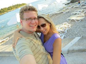 A už sme stihli aj svadobnú cestu....honeymoon...:-)