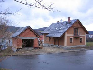 domeček a garáž II