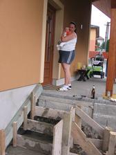 hlavní stavební dozor - Jareček IV. s maminkú