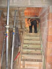 osazování schodnic