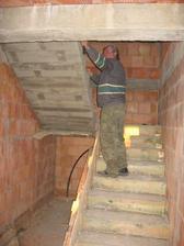 odbedňování schodiště