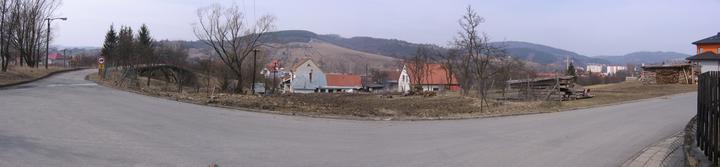 srovnaný pozemek (19.3.2010)