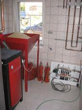 zapojení rozvodů podlahového topení - už se topí!!!!