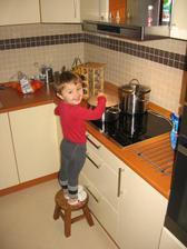naša malá kuchařka