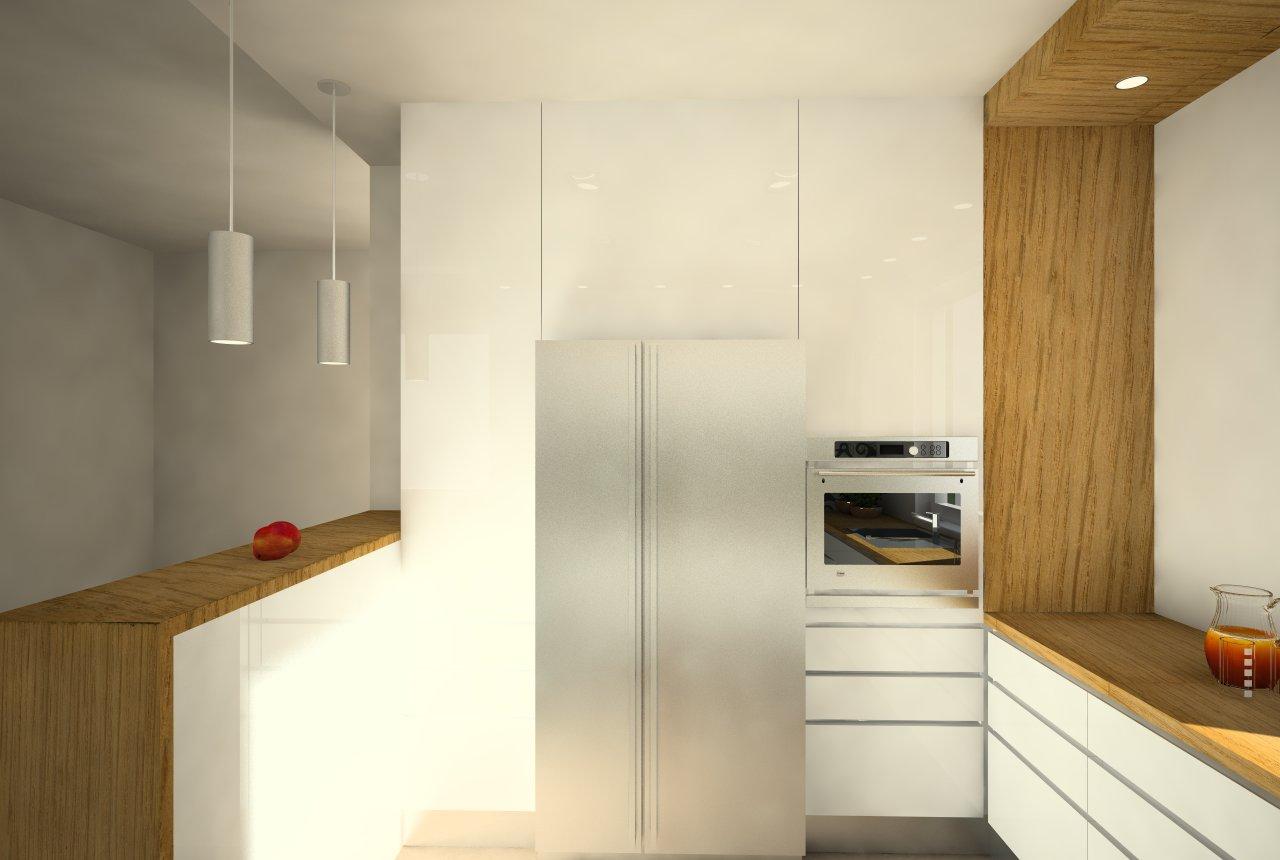 Návrh kuchyne, Humenné - navrhovaný stav
