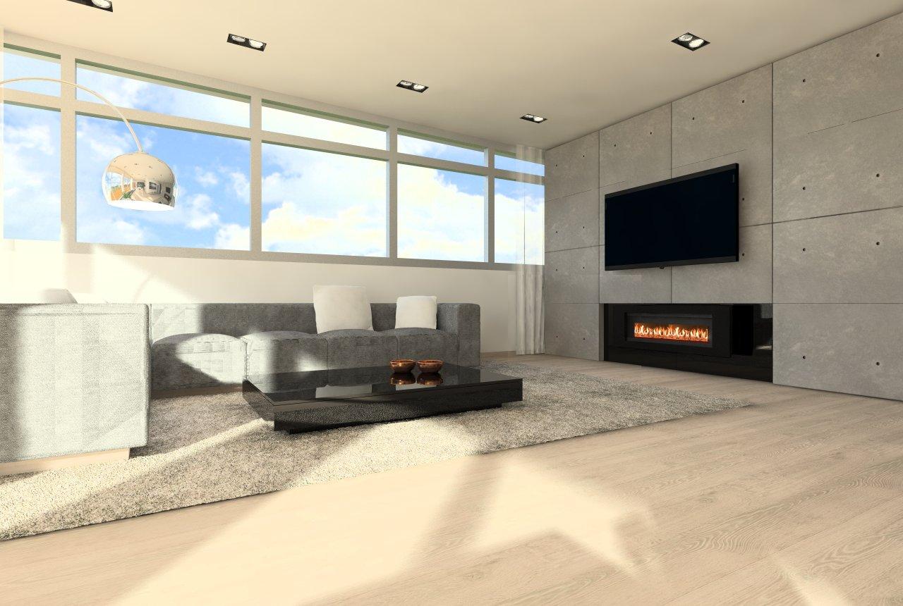 Návrh apartmánu - Panoráma, KE - Finálna verzia