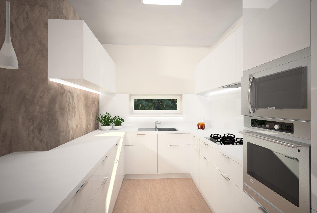 Návrh kuchyne, projekt Villapark, Košice - Finálna varianta