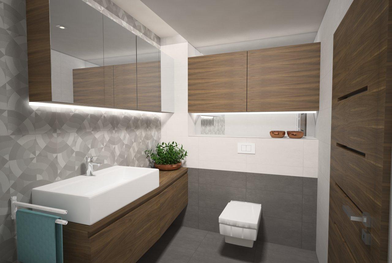 Návrh kúpeľní - novostavba Luxembursko - Obrázok č. 8