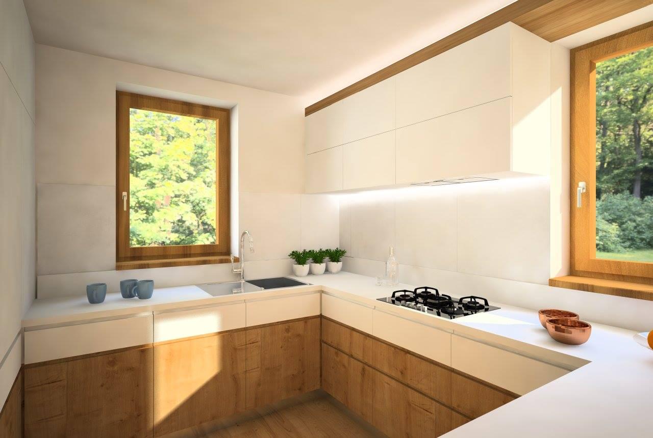 Návrh interiérov rodinného domu, Írsko - Finálna varianta