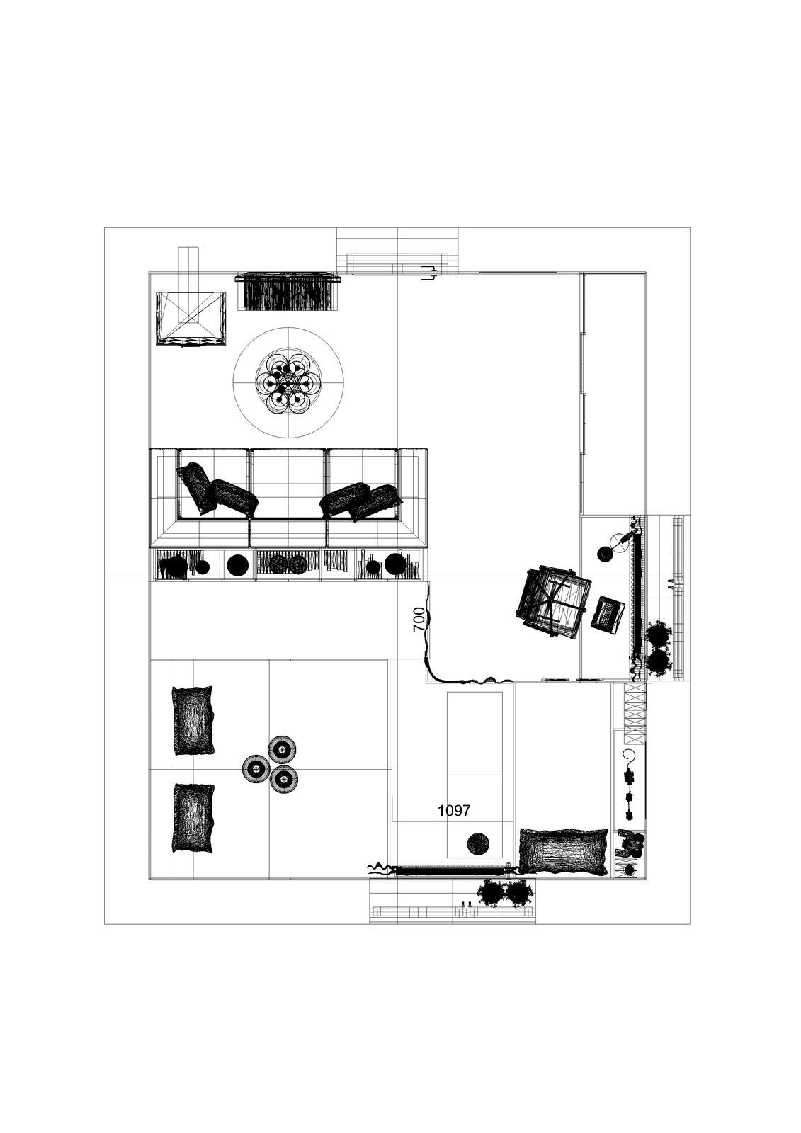 Návrh obývacej časti so spálňou, Bardejov - Obrázok č. 2