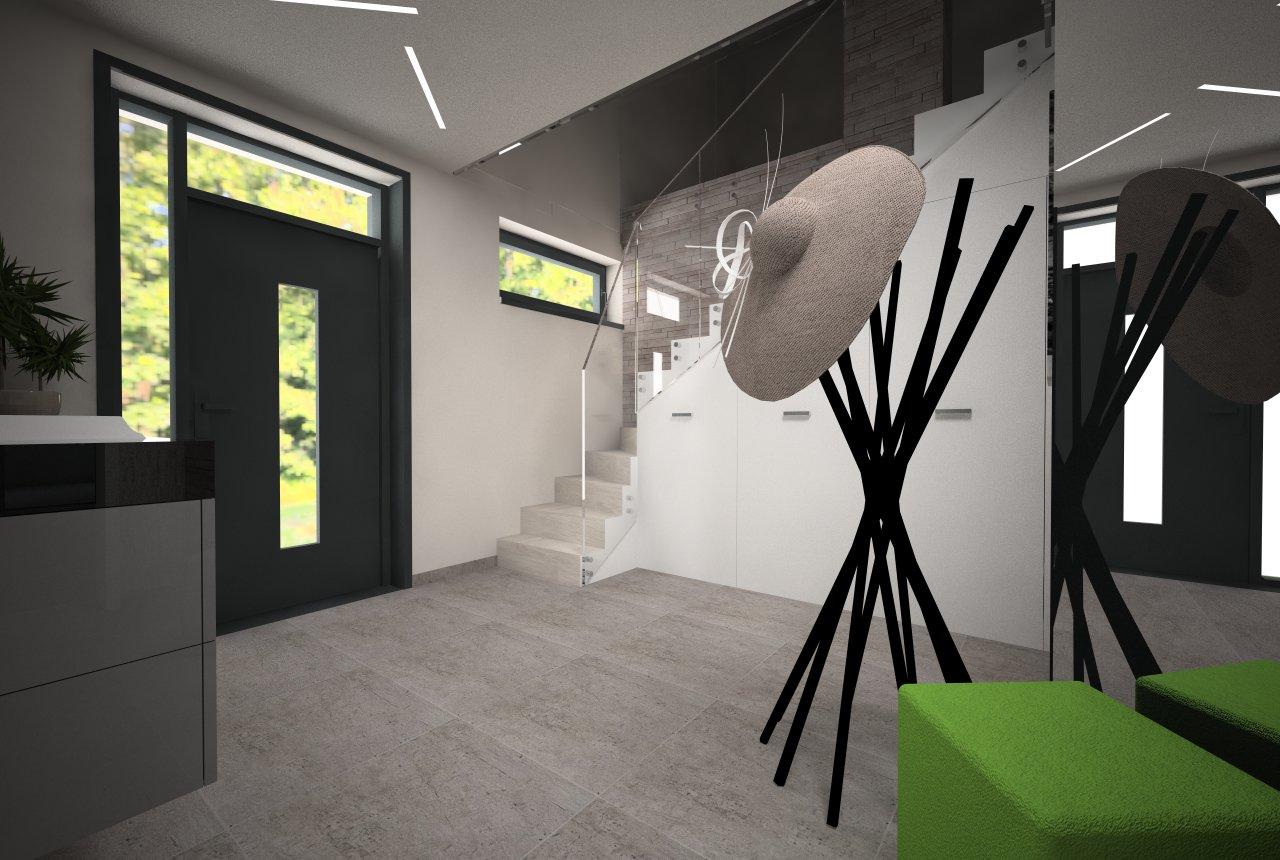 Návrh interiérov novostavby RD, Košice - okolie - Fáza odovzdanie