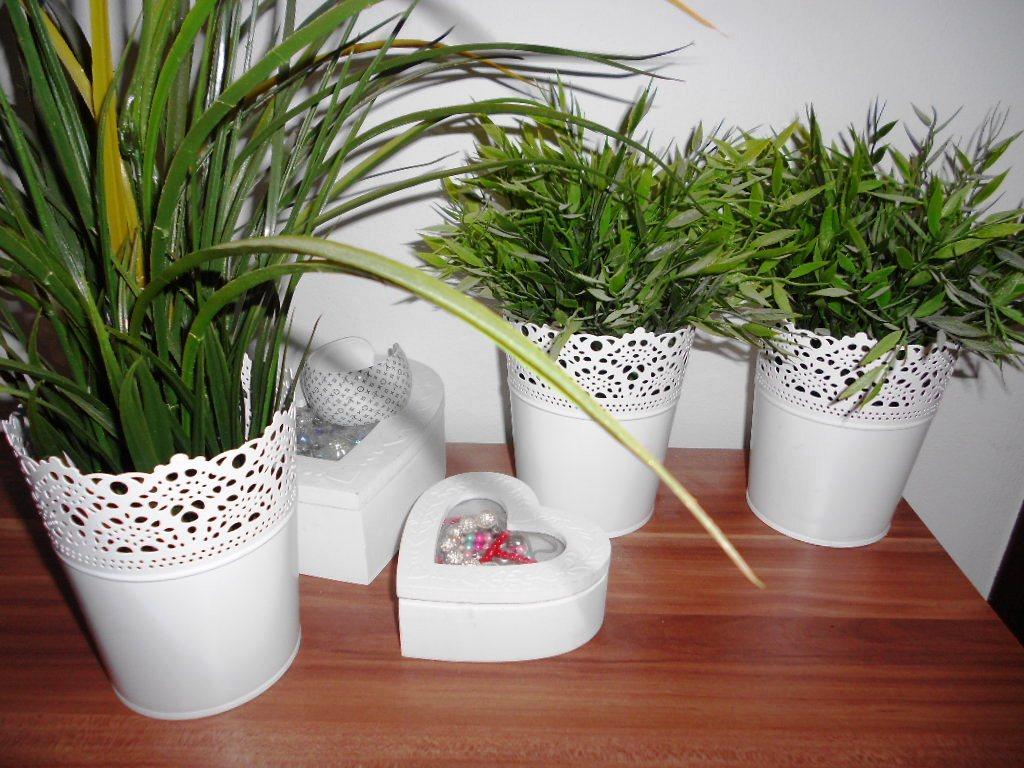 Kvetináče provance biela farba - Obrázok č. 1