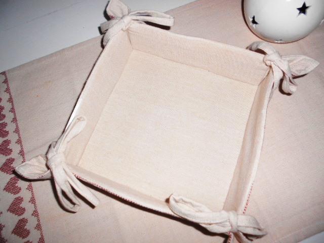Látkový  košík na chleba, ovocie, orechy - Obrázok č. 3