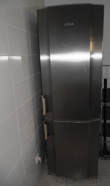 Nerezová kombinovaná chladnička s mraziakomGorenje - Obrázok č. 1