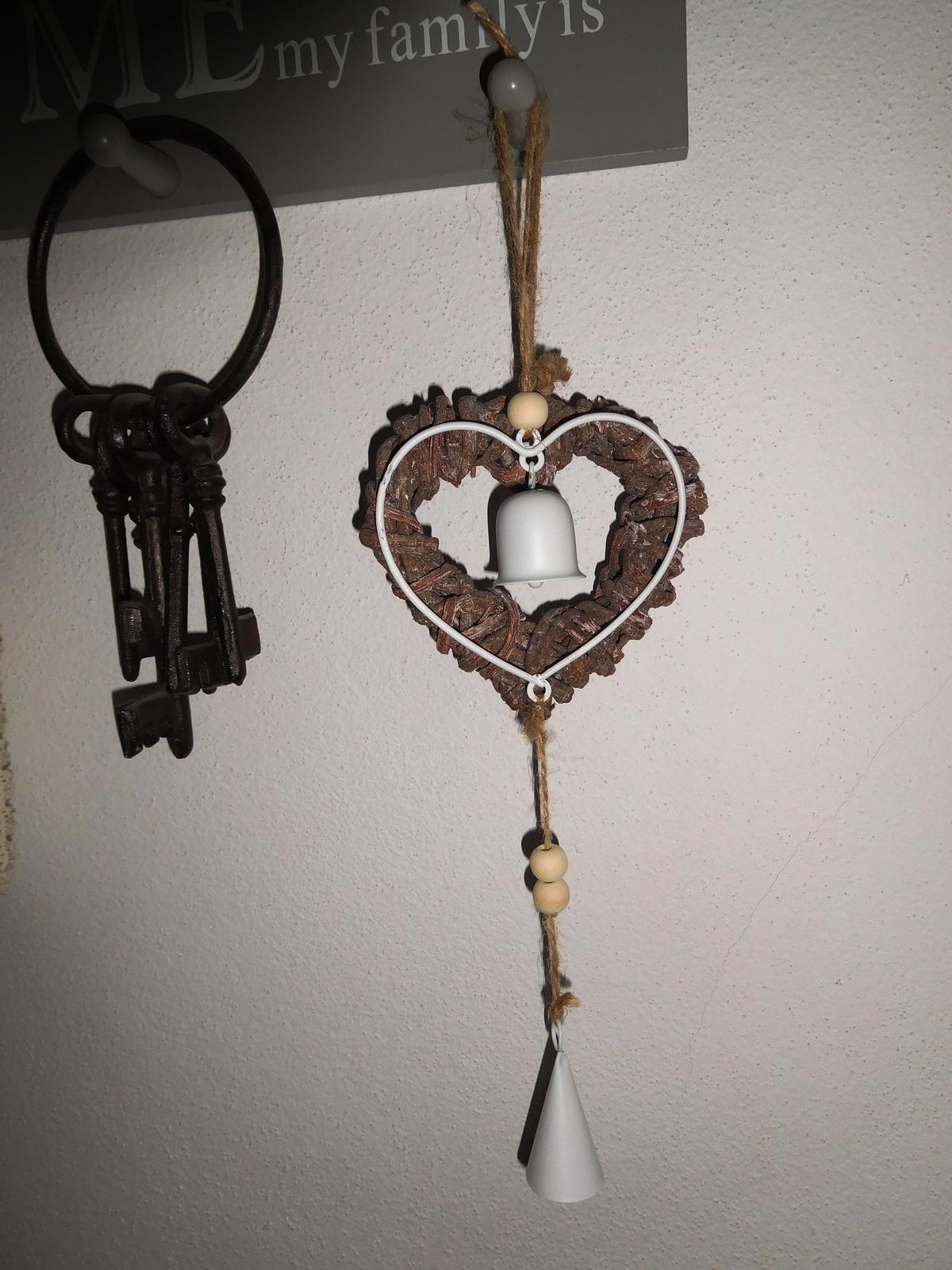 Provance dekorácia-zvonkohra, ktorá zvoní - Obrázok č. 1
