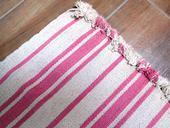 Koberec hladko tkaný, 85 x 55 cm nepoužitý,