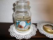 Yankee Candle originál veľká sviečkaCOCONUT SPLASH,