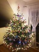 Certifikované led osvetlenie na stromček LED,