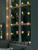 Certifikované vianočné svetlá-záves hviezdy ,