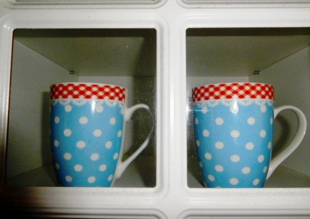 2 ks provance-vidiecke porcelánové šálky - Obrázok č. 1