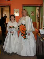Snad odpustí majitelka alba gs06, ale musela jsem... krásný účes, nádherná kytice a pohádkově krásná nevěsta...