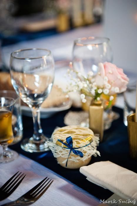 Pani manžel{{_AND_}}Pán manželka - medíky ako darček pre hostí