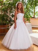 Svatební šaty, vel. 36-40, bílé, 38
