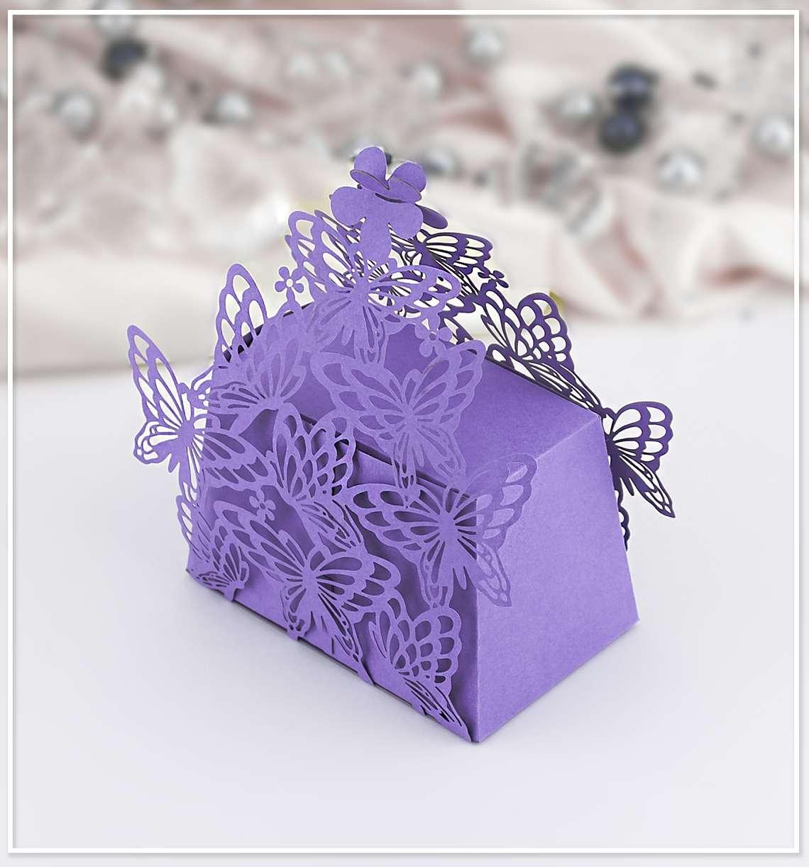 Svatební krabička na mandličky - K607 - Obrázek č. 1
